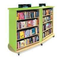 Performance Double Bookcase