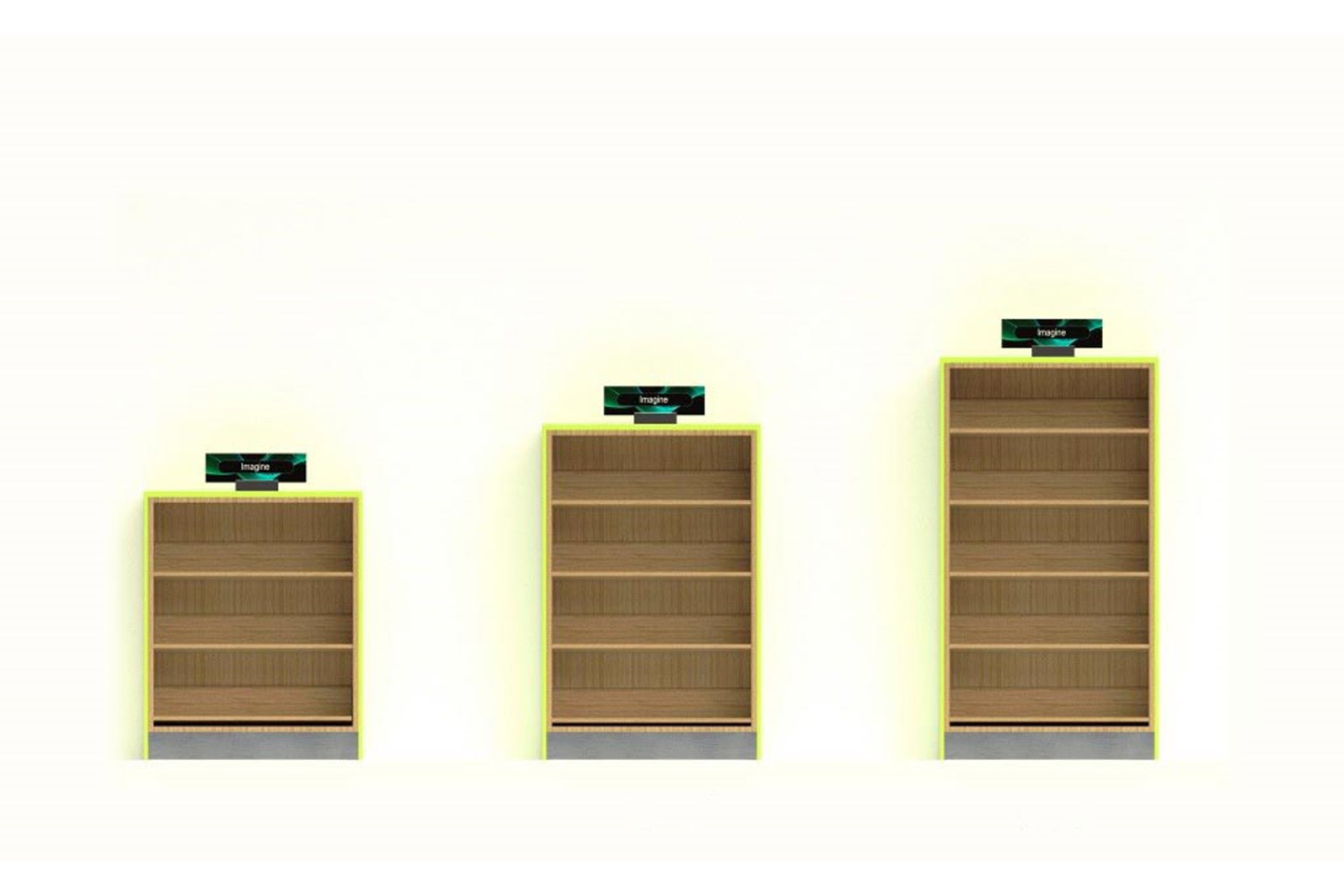 "48"", 60"" and 72"" Bookcases"
